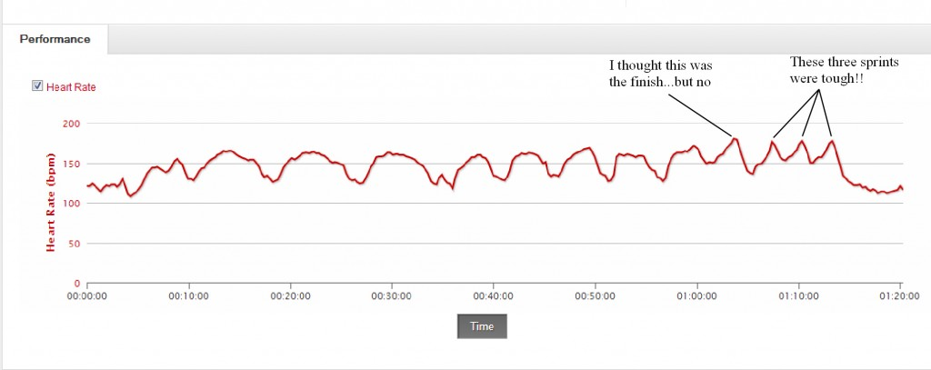 Sufferfest HR graph