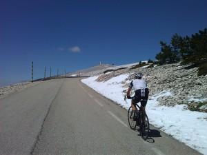Mont Ventoux in the snow