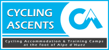 Cycling Ascents - Accommodation and Training Camps at the foot of Alpe d'Huez