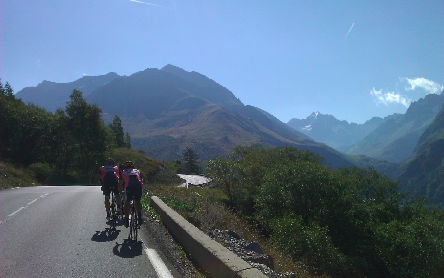 Guided ride on the Col du Lautaret