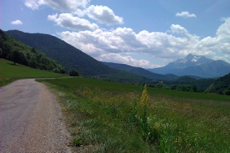 Col de la Morte...gentler slopes