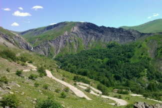Switchbacks of the Col de Sarennes